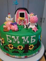 pink barn farm cake cake by patty cakes bakes cakesdecor