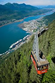 Dutch Harbor Alaska Map by Mt Roberts Tramway Scenic Tram In Juneau