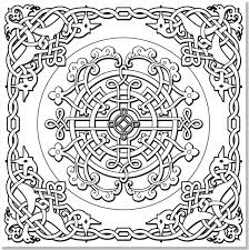 amazon com celtic designs coloring book 31 stress