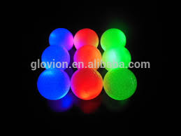 light up golf balls new light up golf ball glovion glow in the dark custom glof ball led
