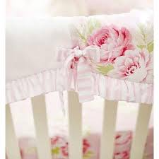 Roses Crib Bedding Pink Floral Pink Desert Crib Bedding Collection And