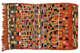 Vintage Moroccan Rug Hand Knotted Wool Vintage Morocco Azilal Rug 5 U0027 1