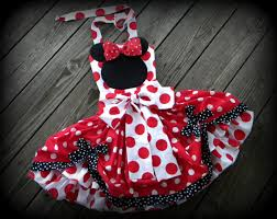 Minnie Mouse Halloween Costume Toddler Minnie Mouse Pageant Skirt Halter Halloween Minnie Mouse