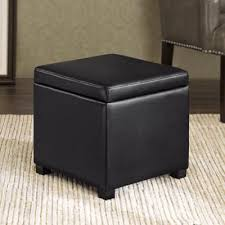 buy black storage ottomans from bed bath u0026 beyond