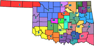 Oklahoma Counties Map Oklahoma Commission On Children And Youth Parb Local Boards