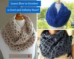 broomstick lace infinity scarf 26 crochet infinity scarf patterns allfreecrochet