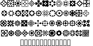 italian mosaic ornaments font by dixie s delights fontriver