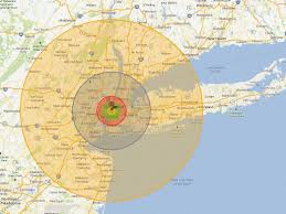 Map Of Areas To Avoid In New Orleans by This Scary Interactive Map Shows What Happens If A Nuke Explodes
