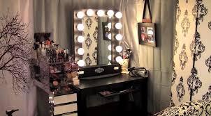 Vanity Makeup Bedroom Black Vanity Table Corner Makeup Vanity Set Vanity