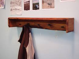 driftedge woodworking live edge douglas fir coat rack with