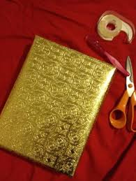 gold foil wrap geometric gold foil wrapping paper by hautepapier on etsy 1000