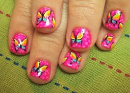 free hand nail art toturial fantasy butterflies butterfly nail art designs pictures images