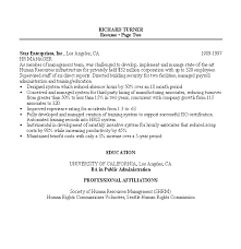 Resume Examples For Human Resources by Resume Sample 8 Hr Manager Resume Career Resumes