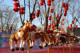 china celebrate the lunar new year of the horse people boomsbeat