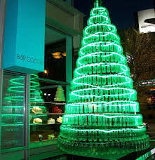 Christmas Tree Made Of Christmas Lights - christmas trees and gingerbread holiday attractions nationwide