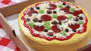 how to make a cake pizza nerdy nummies youtube