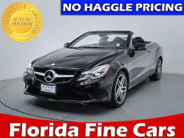 mercedes e class convertible for sale used mercedes e class convertible for sale in miami