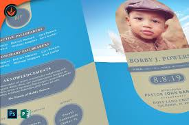 baby funeral program tribute book photos graphics fonts themes templates creative