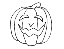 Halloween Pumpkin Coloring Page Halloween Pumpkin Print Images Pictures Findpik Throughout