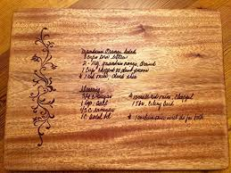 cutting board with recipe engraved cheap engraved wood cutting board find engraved wood cutting