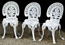 Iron Patio Furniture by 15 White Metal Patio Furniture Electrohome Info