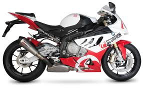 2014 Bmw 1000rr Scorpion Serket Taper Slip On Exhaust Bmw S1000rr 2009 2014 Revzilla