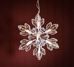 snowflake lights large snowflake string lights lighting christmas and winter