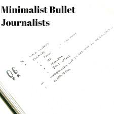 Mimimalist Minimalist Bullet Journalists U2014 Tiny Ray Of Sunshine