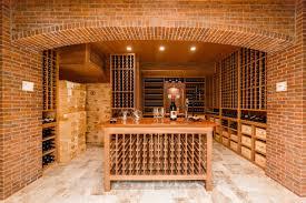 wine cellar table joseph u0026 curtis custom wine cellars