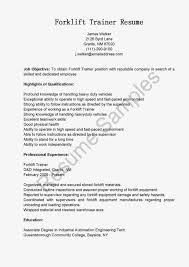 sample resume for warehouse supervisor create this cv sample resume for forklift operator forklift forklift resume sample resume samples forklift trainer sample driver forklift operator resume sample forklift resume