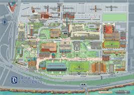 University Of Colorado Campus Map by Du Campus Map