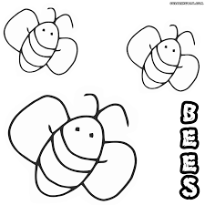 bee coloring pages coloring pages to download and print