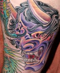 mask tattoos and designs page 93