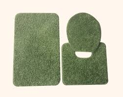 3 Piece Bathroom Rug Set by Walmart Green Bath Rugs Creative Rugs Decoration