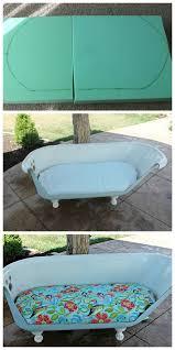 bathtub to sofa tutorial so you think you u0027re crafty