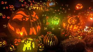 full hd wallpaper halloween scary room jack o u0027 lantern pumpkin