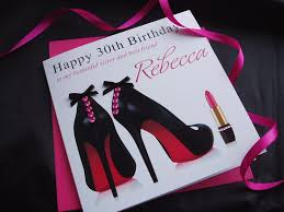 birthday cards with shoes beautiful black pink shoes birthday card handmade cards pink