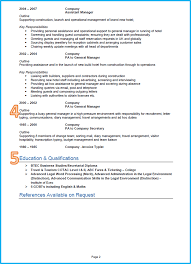 format of good resume example of a proper resume free resume example and writing download why is this an effective admin business support