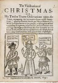 did oliver cromwell really ban christmas history extra