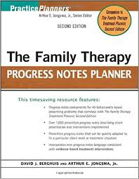 amazon com the family therapy progress notes planner