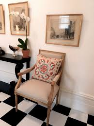 Cool Armchairs Enchanting Traditional Entryway Ideas With Black Wood Table Also