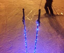 light up your ski poles 4 steps with pictures