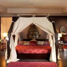 chambre coloniale lit en bois lit exotique la chambre coloniale