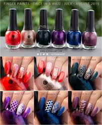 sallybeauty u0027s finger paints once in a wild collection swatches