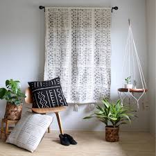 Bohemian Drapes Living Room Hippie Curtains Drapes Colorful Pillows Classic