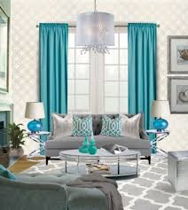Apartment Curtain Ideas Teal Living Room Curtains Design Home Ideas Pictures