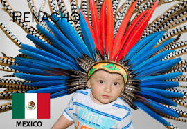 imagenes penachos aztecas hats of the world
