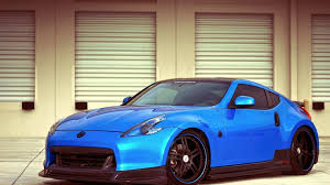 nissan 370z nismo wallpaper nissan 370z 2014 blue wallpaper 1920x1080 19548