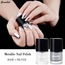 aliexpress com buy genailish 2pc lot 6ml metallic nail polish