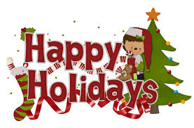 happy holidays clipart clipground